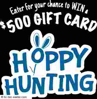 Tic Tac Hoppy Hunting Promotion Sweepstakes