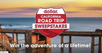 Dollar California Road Trip Sweepstakes Sweepstakes