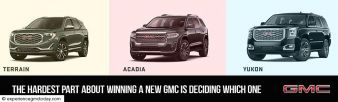 Win A New GMC Vehicle Of Your Choice Sweepstakes