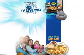 Mrs. T's TV Giveaway Sweepstakes
