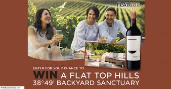 Flat Top Hills 38°49' Backyard Sanctuary Sweepstakes Sweepstakes