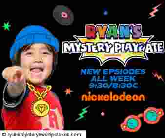 Ryan's Mystery Playdate Season 3 Sweepstakes Sweepstakes