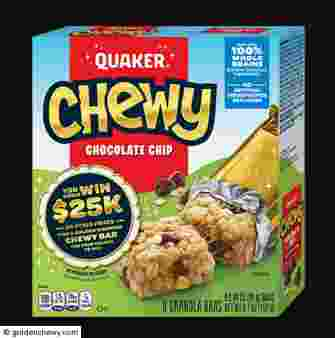Quaker® Chewy Golden Wrapper Instant-Win Game Sweepstakes