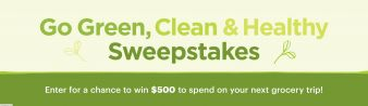Parents · Go Green, Clean and Healthy Sweepstakes Sweepstakes