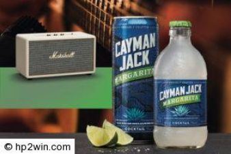 Cayman Jack® Cinco De Mayo Marshall® Speaker Giveaway Sweepstakes Sweepstakes