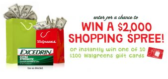 Walgreens Sweepstakes