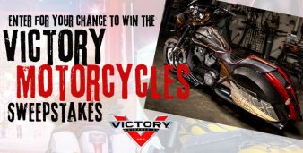 Sixx Sense's Victory Motorcycles Sweepstakes Sweepstakes