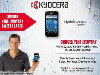 Kyocera Mobile Phones Sweepstakes