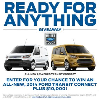 Ready for Anything Giveaway Sweepstakes