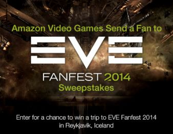 Amazon -Send a Fan to EVE Fanfest 2014 Sweepstakes Sweepstakes
