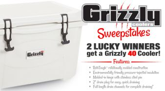 Grizzly Coolers Sweepstakes