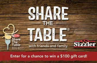 SIZZLER Sweepstakes