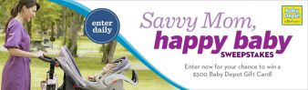 Savvy Mom, Happy Baby Sweepstakes Sweepstakes