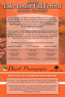 Banff Photography Sweepstakes
