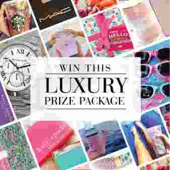 Win a luxury prize package of designer goodies Sweepstakes