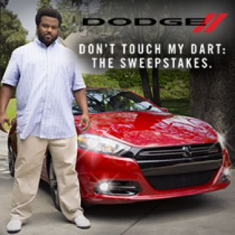 Don't Touch My Dart Sweepstakes Sweepstakes