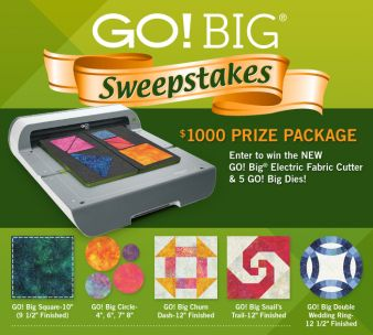 Accu Quilt Sweepstakes