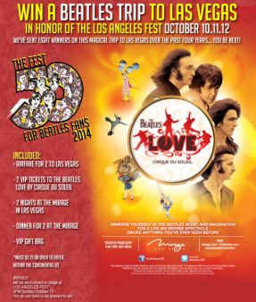 The Fest For Beatles Fans Sweepstakes