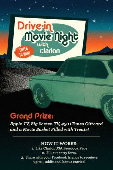 Clarion USA Sweepstakes