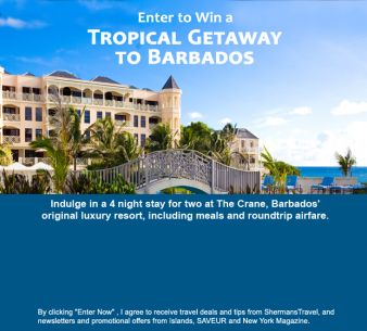 Shermans Travel Sweepstakes