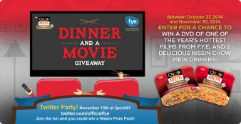 Nissin Foods Sweepstakes