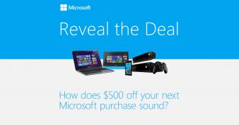 Microsoft Store Sweepstakes