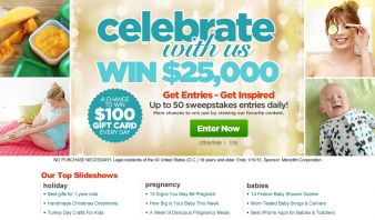 Meredith Holiday Slide and Win Sweepstakes