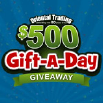 Oriental Trading Sweepstakes
