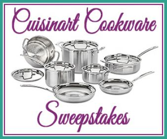 Cuisinart MultiClad Pro 12-Piece Cookware Set Giveaway Sweepstakes