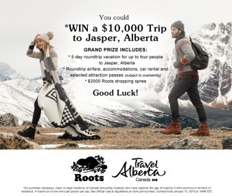 Roots Canada Sweepstakes