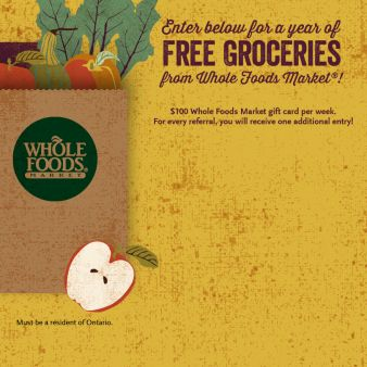 Whole Foods Market Square One Sweepstakes
