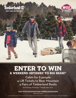 WSS & Timberland Sweepstakes