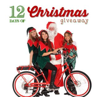 Pedego Electric Bikes · 12 Days of Christmas Giveaway Sweepstakes