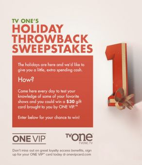 TV One Sweepstakes