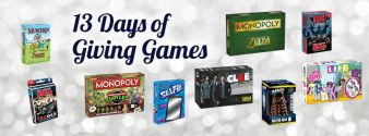 USAopoly · The 13 Days of Giving Games Contest Sweepstakes