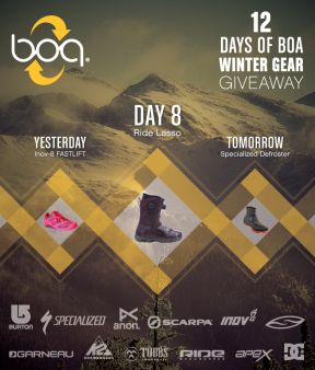 Boa Closure System Sweepstakes