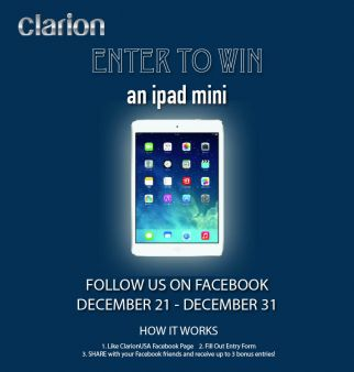 Clarion Sweepstakes