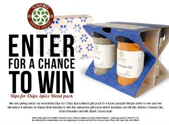 Savory Spice Shop Online Sweepstakes