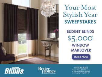 Better Homes & Gardens · Your Most Stylish Year Sweepstakes Sweepstakes