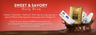 Ile de France Cheese Sweepstakes