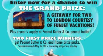 PEANUT BUTTER & CO. Sweepstakes