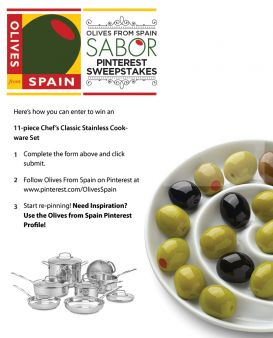 Olives From Spain Sweepstakes