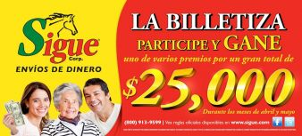 Sigue Sweepstakes