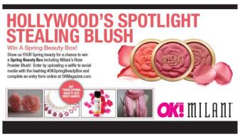 OK! Magazine · Win A Spring Beauty Box Sweepstakes