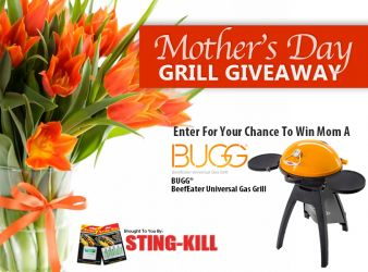 Sting-Kill · Mother's Day Grill Giveaway Sweepstakes