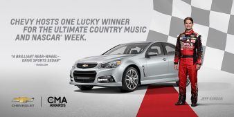 Chevrolet · Win the 2015 Chevrolet SS Sweepstake Sweepstakes