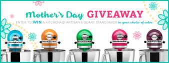 Everything Kitchens · Mother's Day KitchenAid Artisan Stand Mixer Giveaway Sweepstakes
