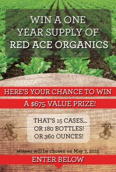 Red Ace Organics Sweepstakes