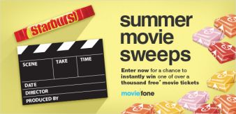 Moviefone Sweepstakes
