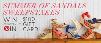 Off Broadway Shoes Sweepstakes